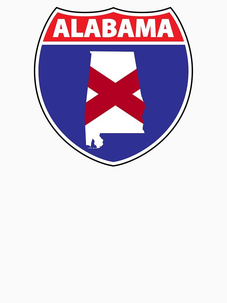 Alabama flag US Hwy seal by mamatgaye