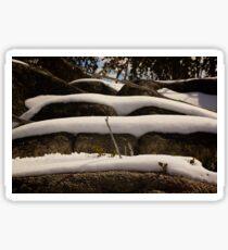Snow Layers  Sticker