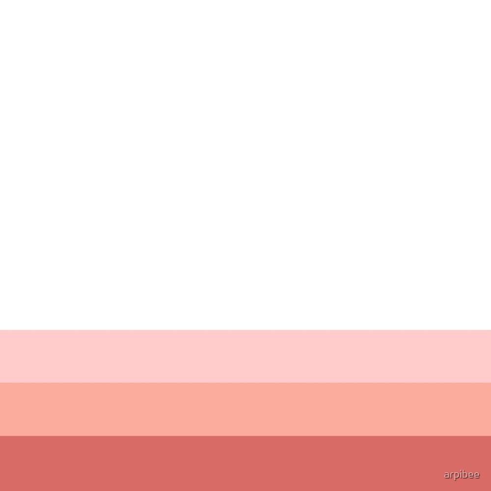 A Progression of Pink by arpibee