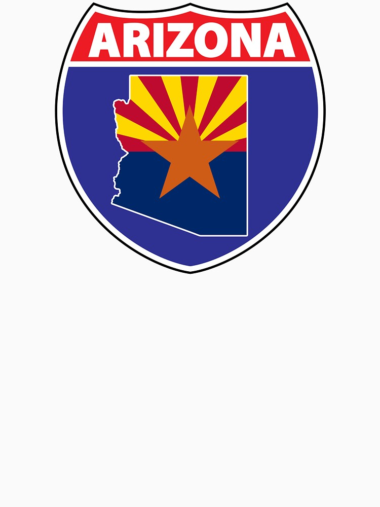 Arizona flag USA hwy seal by mamatgaye
