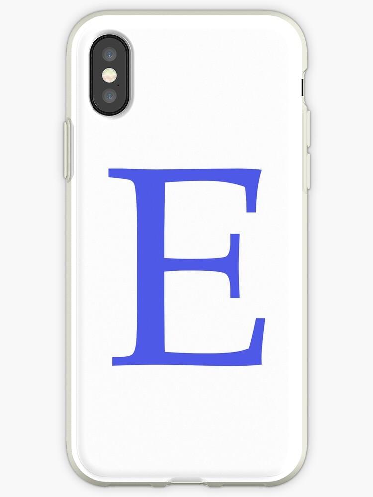 Alphabet Letter E by miribanonur