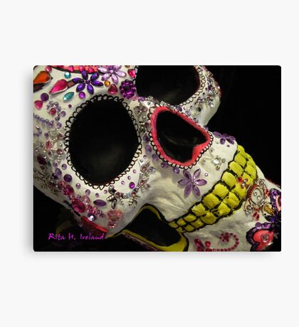 Attitude & Skulls Canvas Print