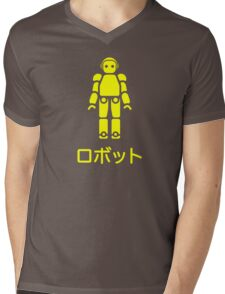 Robot II / ロボットII Mens V-Neck T-Shirt