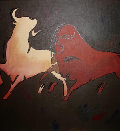 Bullfight 2 Sticker