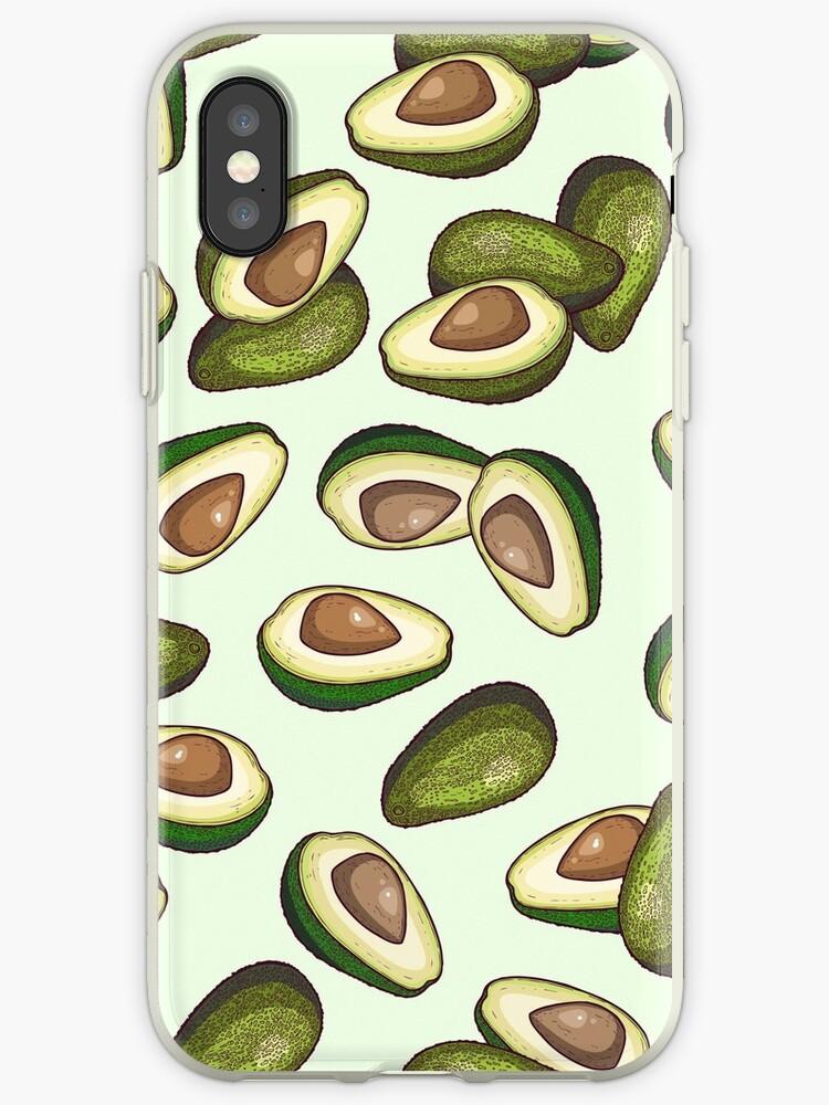 avocado pattern by smalldrawing