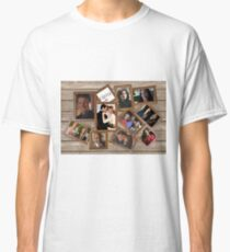Castle collage frame Classic T-Shirt