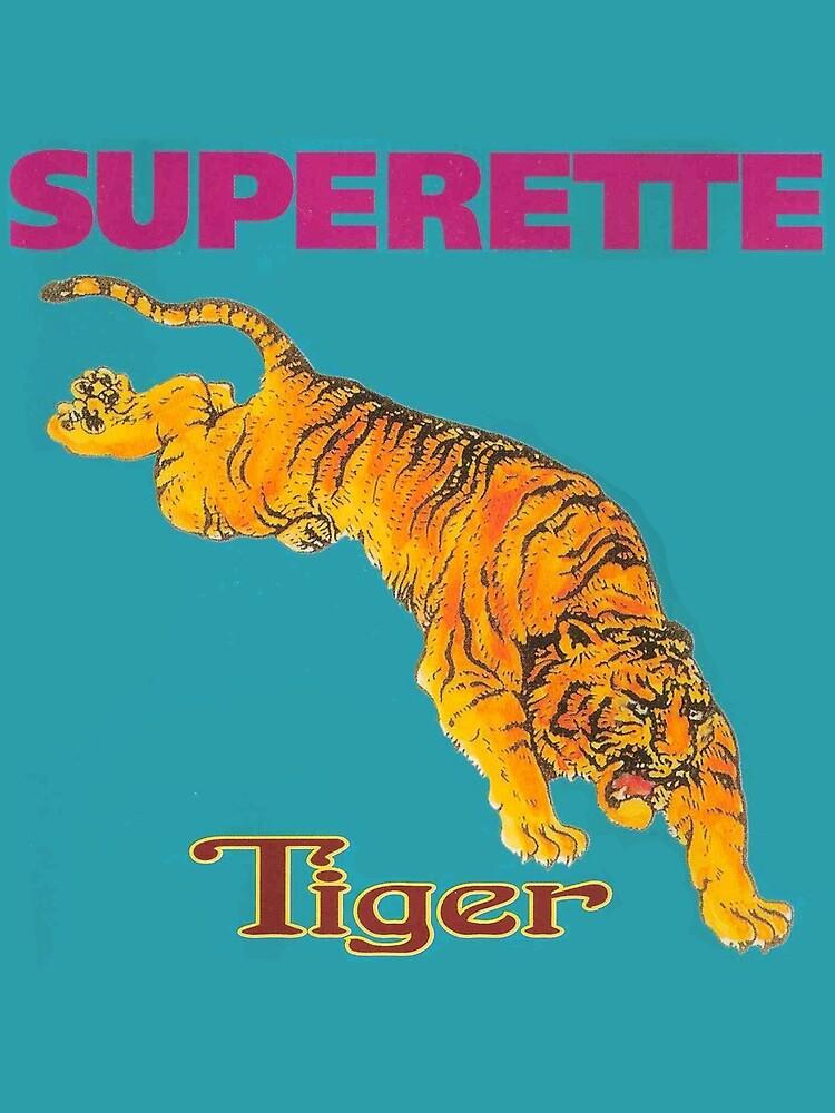 Superette Tiger Album Cover by usingbigwords