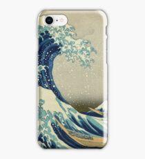Hokusai Katsushika - Great Wave off Kanagawa iPhone Case/Skin