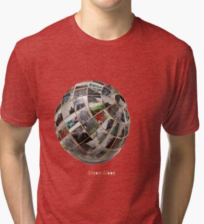 Steam Globe Tri-blend T-Shirt