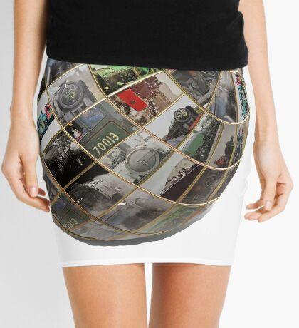 Steam Globe Mini Skirt