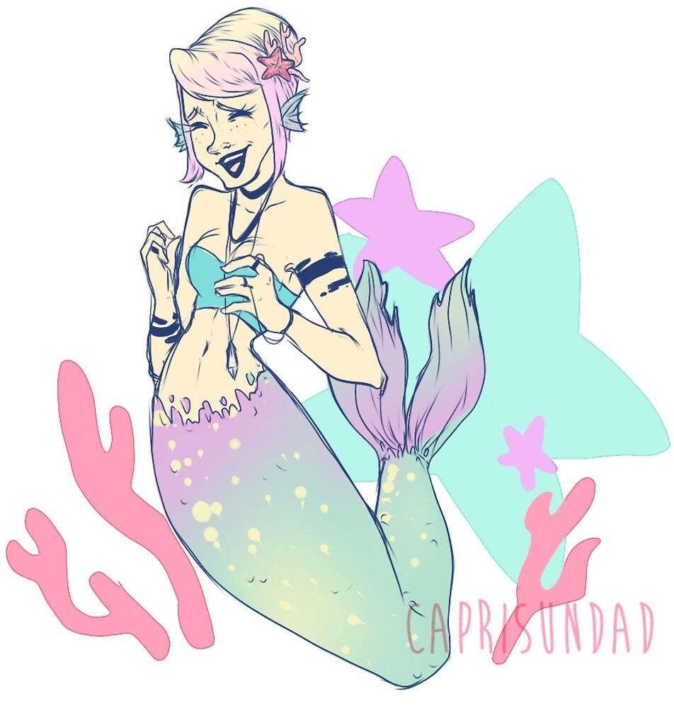 bubbly mermaid by caprisundad
