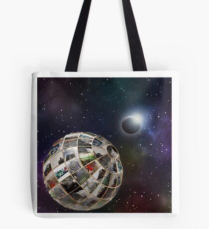 Steam planet  Tote Bag