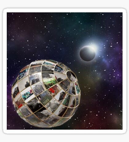 Steam planet  Sticker