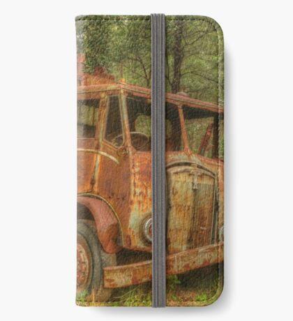 Rusty Trusty & the Bulldozer iPhone Wallet