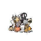 Pile of Kitties by Bianca Loran
