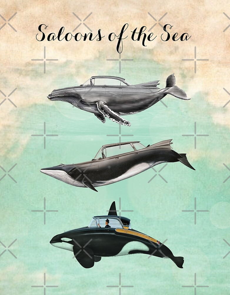 saloons of the sea by Vin  Zzep