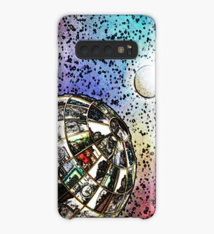Steam planet in chalk Case/Skin for Samsung Galaxy