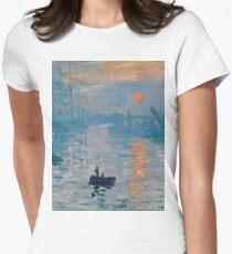 Claude Monet - Impression Sunrise 1872 T-Shirt