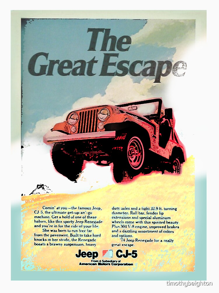 The Great Escape - Jeep advert. by timothybeighton