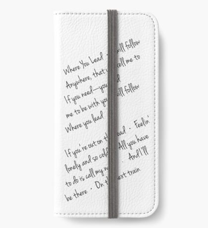 Where you lead iPhone Wallet