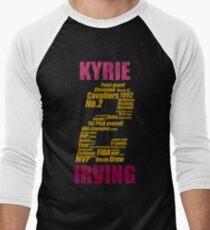 kyrie 2 collage kyrie irving Men's Baseball ¾ T-Shirt