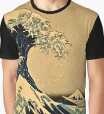 Katsushika Hokusai - The Great Wave Off the Coast of Kanagawa 19th century Graphic T-Shirt