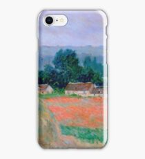 Claude Monet - Haystack At Giverny 1886 iPhone Case/Skin