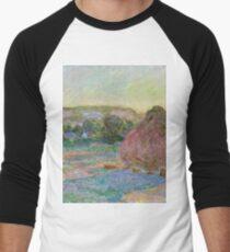 Claude Monet - Stacks of Wheat (End of Summer) (1890 91)  T-Shirt
