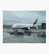 Heathrow, Emirates Photographic Print