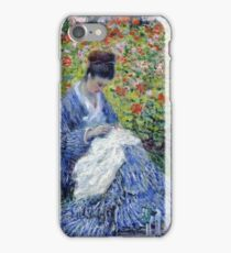 Claude Monet - Madame Monet And Child iPhone Case/Skin