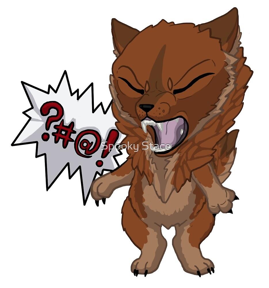 Swearwolf - red by Murder-Mistress