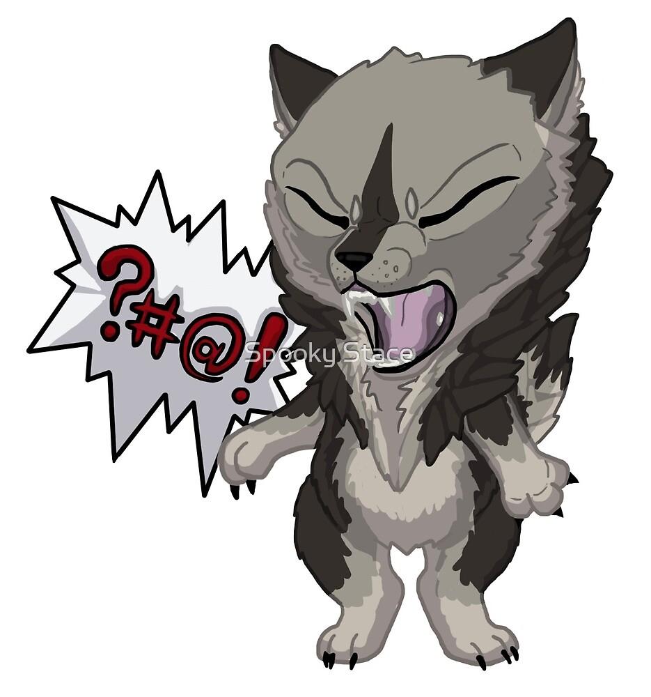 Swearwolf - Grey by Murder-Mistress