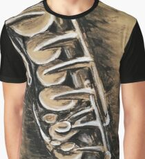 Saxophone Graphic T-Shirt