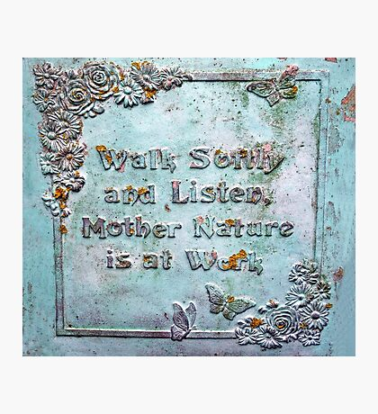 Listen to Nature Photographic Print