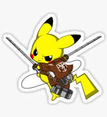Shingeki No Pika! Sticker