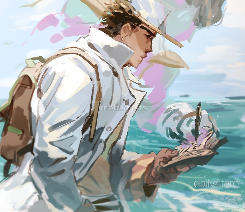 Ocean man by meltsmelts