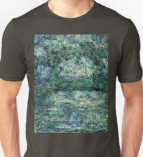 Claude Monet - The Japanese Bridge (1914 - 1917)  Unisex T-Shirt