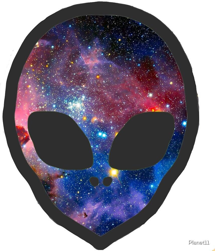 Galaxy Alien by SpaceFizz