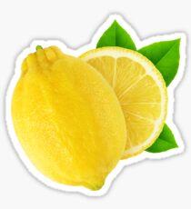 Cut lemon Sticker