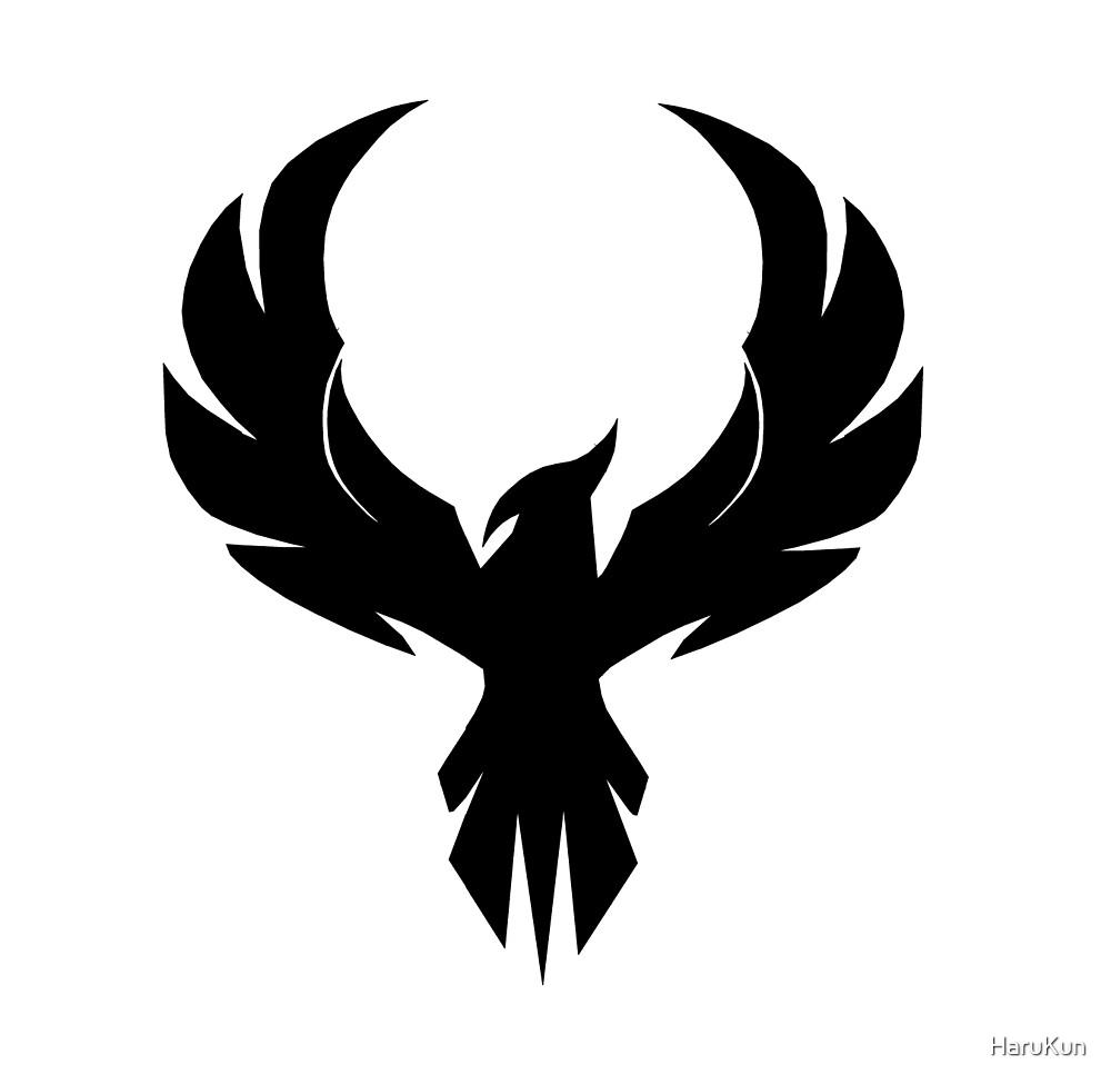 Black phoenix by HaruKun
