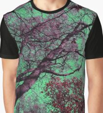 Sky in Green Graphic T-Shirt