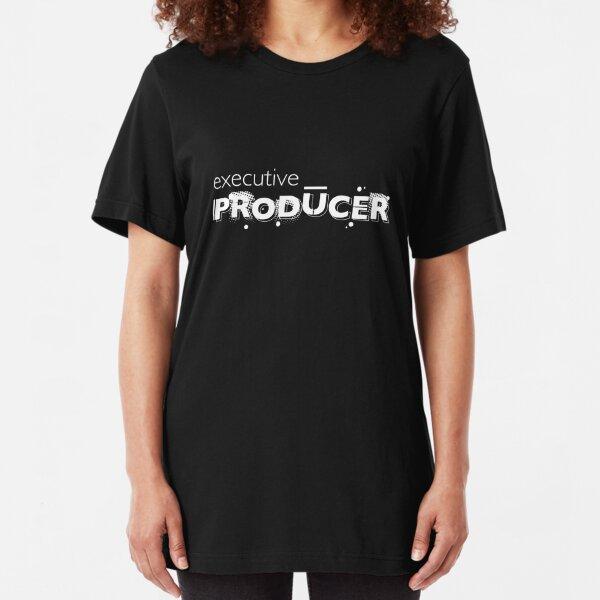 Film crew. Executive Producer. Slim Fit T-Shirt