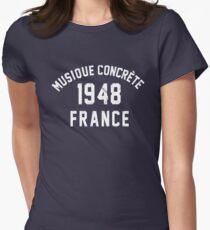 Musique Concrète Women's Fitted T-Shirt