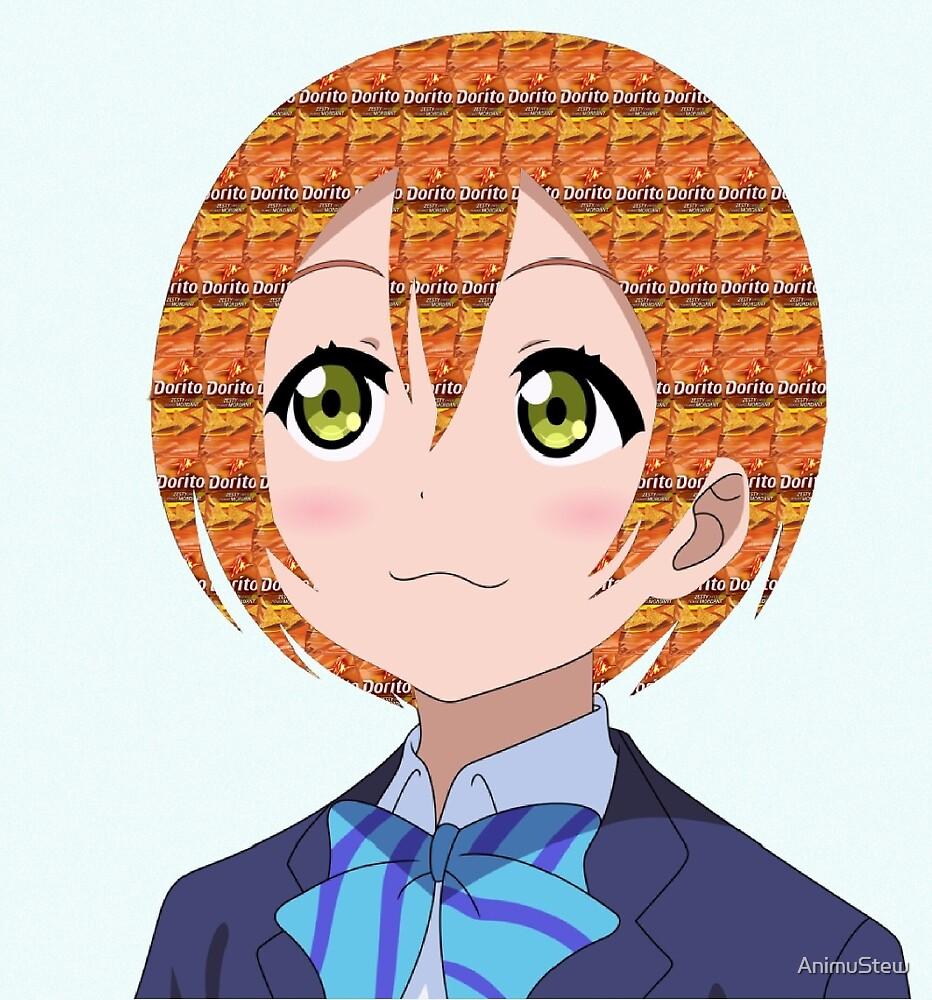 Hoshizora Rin Doritos by AnimuStew