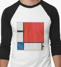 Piet Mondriaan - Mondrian Composition Ii In Red Blue And Yellow T-Shirt
