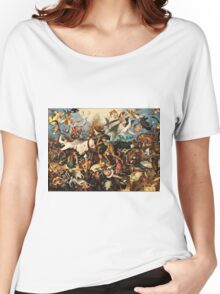 Pieter Bruegel The Elder - The Fall Of The Rebel Angels1562  Women's Relaxed Fit T-Shirt