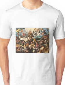 Pieter Bruegel The Elder - The Fall Of The Rebel Angels1562  Unisex T-Shirt