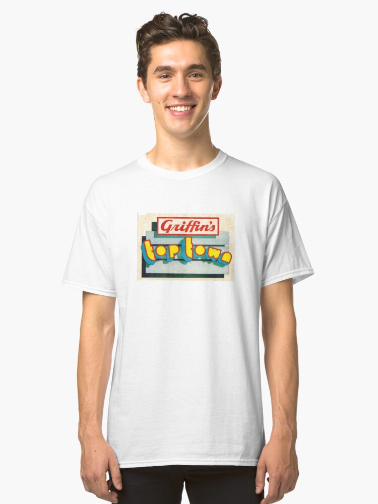 Top Town Classic T-Shirt Front