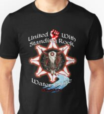 United With Standing Rock - Water is Life T-Shirt
