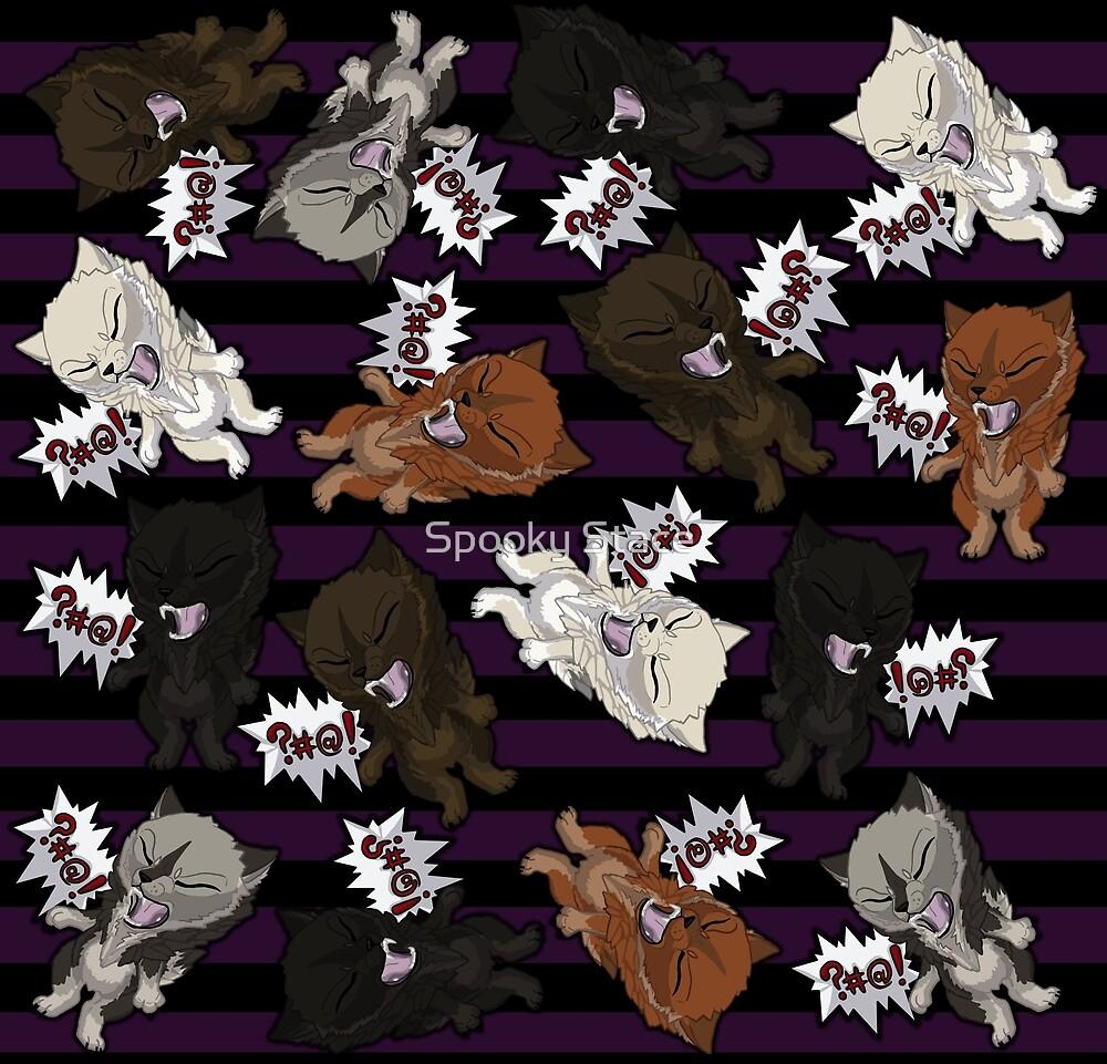 Swearwolves - purple by Murder-Mistress